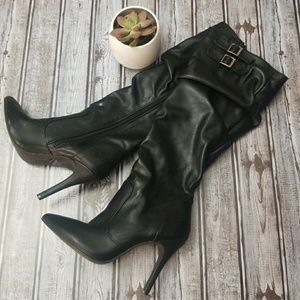 Sexy Breckelles Heeled Boots